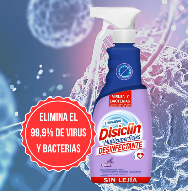 Desinfectante sin lejía